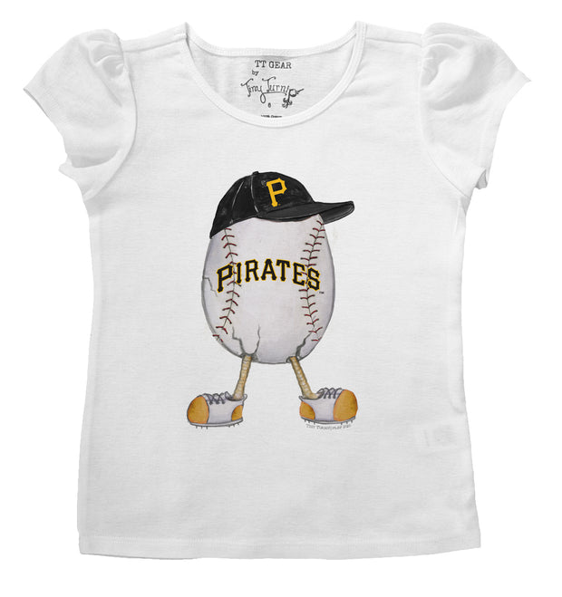 Pittsburgh Pirates Infant The Egg Puff Sleeve Tee