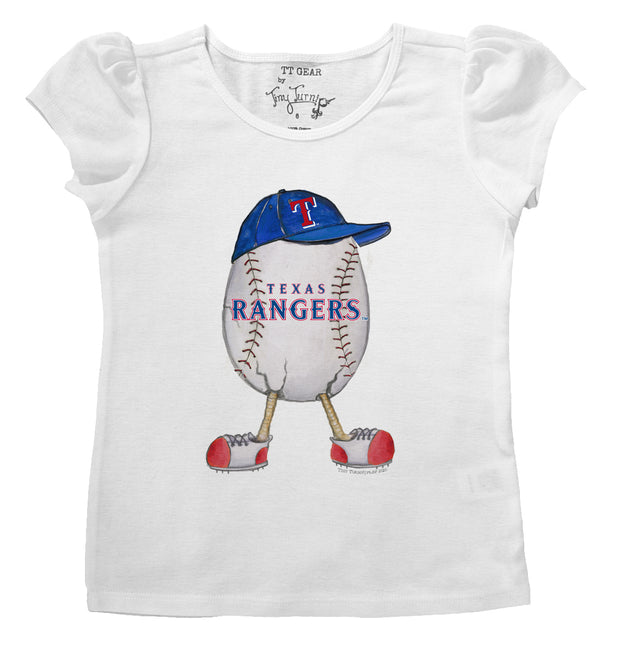 Texas Rangers Infant The Egg Puff Sleeve Tee