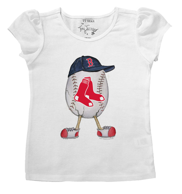 Boston Red Sox Infant The Egg Puff Sleeve Tee