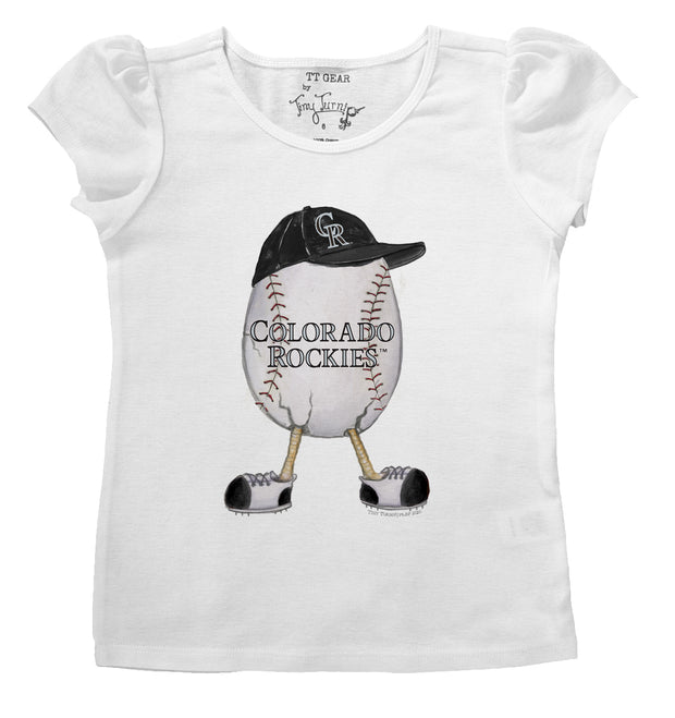 Colorado Rockies Infant The Egg Puff Sleeve Tee