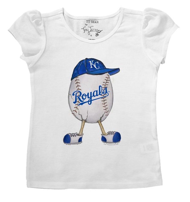 Kansas City Royals Infant The Egg Puff Sleeve Tee