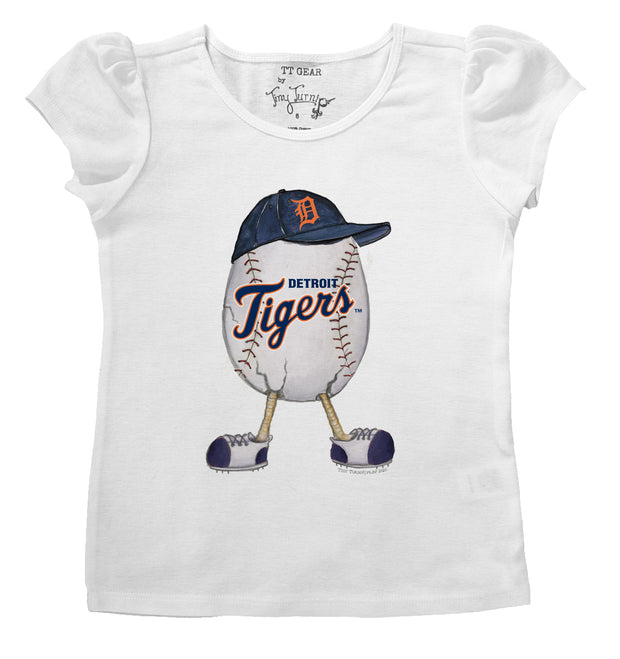 Detroit Tigers The Egg Puff Sleeve Tee