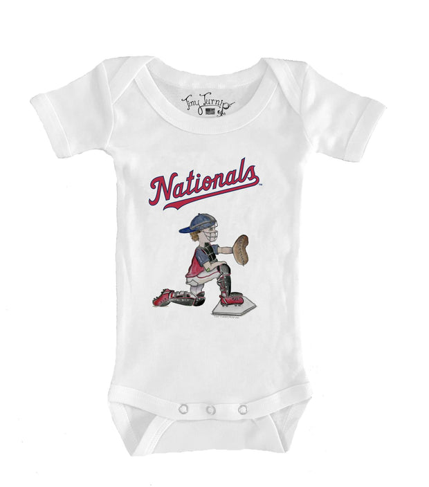 Washington Nationals Infant Caleb the Catcher Short Sleeve Snapper