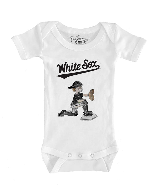 Chicago White Sox Infant Caleb the Catcher Short Sleeve Snapper
