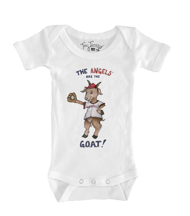 Los Angeles Angels Infant G.O.A.T! Short Sleeve Snapper
