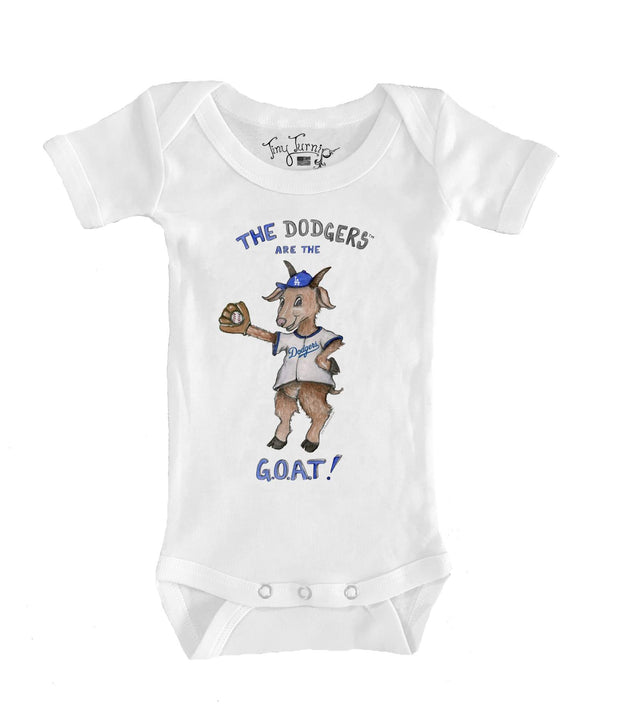 Los Angeles Dodgers Infant G.O.A.T! Short Sleeve Snapper