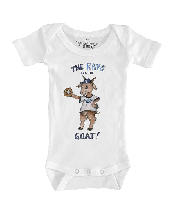 Tampa Bay Rays Infant G.O.A.T! Short Sleeve Snapper