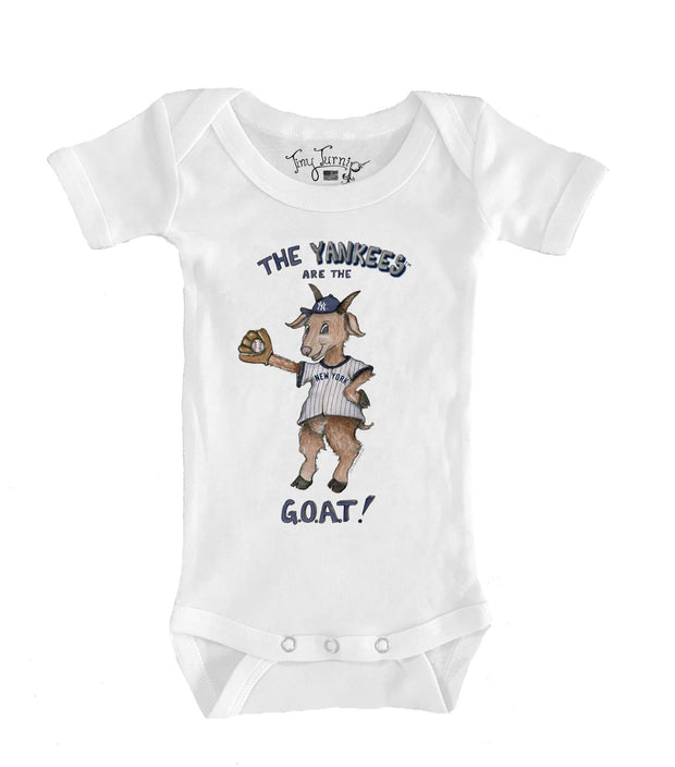 New York Yankees Infant G.O.A.T! Short Sleeve Snapper