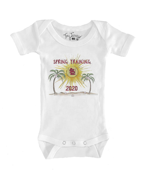 St. Louis Cardinals Infant 2020 Spring Training Short Sleeve Snapper