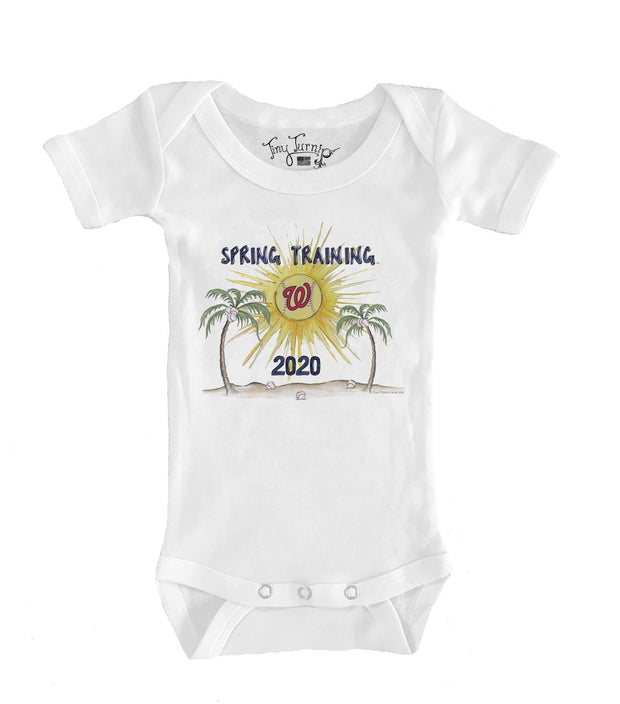 Washington Nationals Infant 2020 Spring Training Short Sleeve Snapper