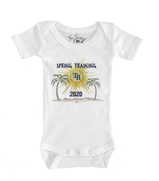 Tampa Bay Rays Infant 2020 Spring Training Short Sleeve Snapper