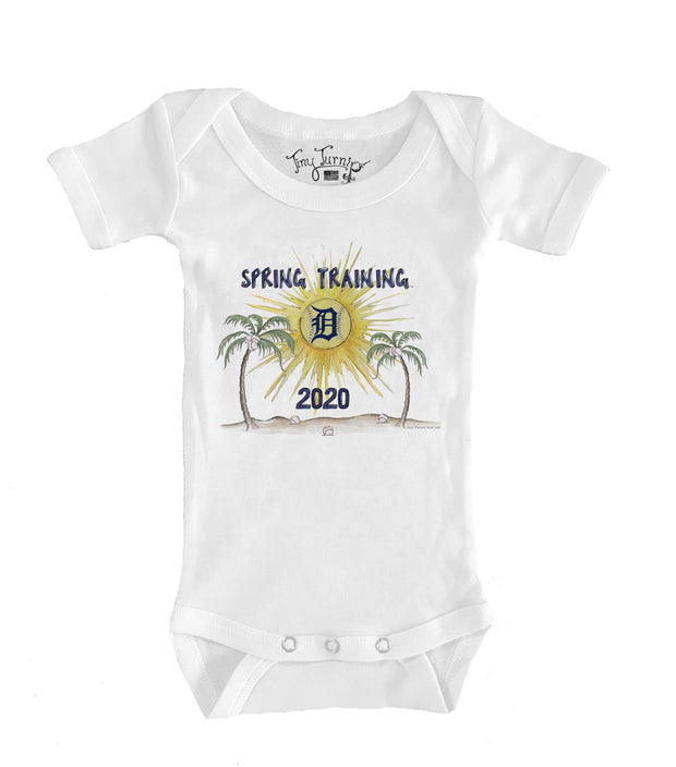 Detroit Tigers Infant 2020 Spring Training Short Sleeve Snapper