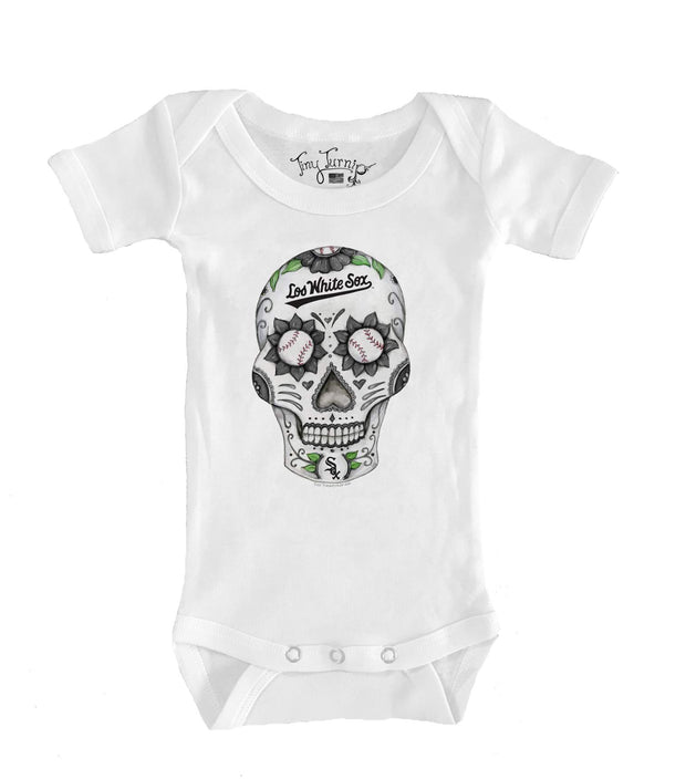 Chicago White Sox Infant Sugar Skull Short Sleeve Snapper