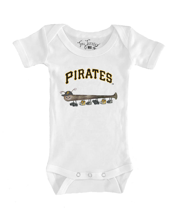 Pittsburgh Pirates Infant Batterpillar Short Sleeve Snapper
