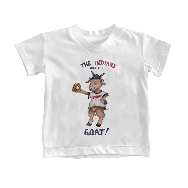 Cleveland Indians Youth G.O.A.T! Tee