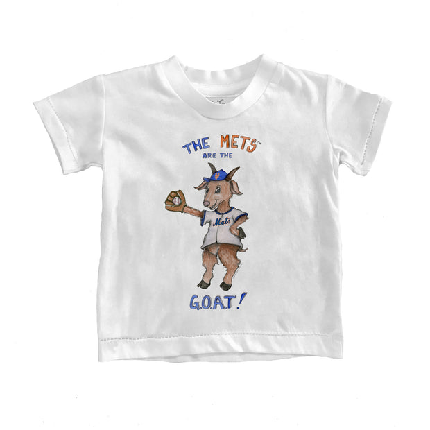 New York Mets Youth G.O.A.T! Tee