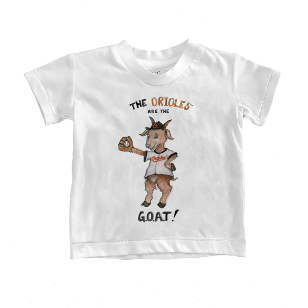 Baltimore Orioles Toddler G.O.A.T! Tee