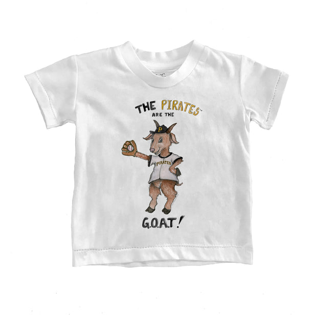 Pittsburgh Pirates Toddler G.O.A.T! Tee