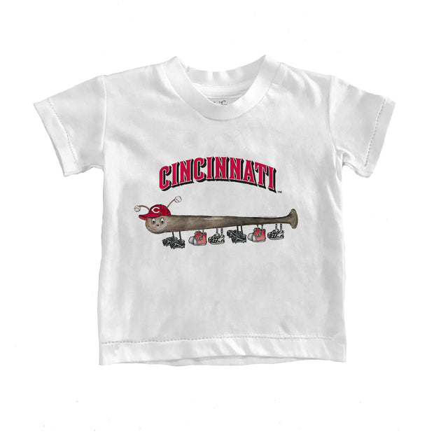 Cincinnati Reds Infant Batterpillar Tee