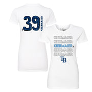 Tampa Bay Rays Kevin Kiermaier Stacked Tee Shirt