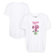 Minnesota Twins Bloomin' Baseball Tee Shirt