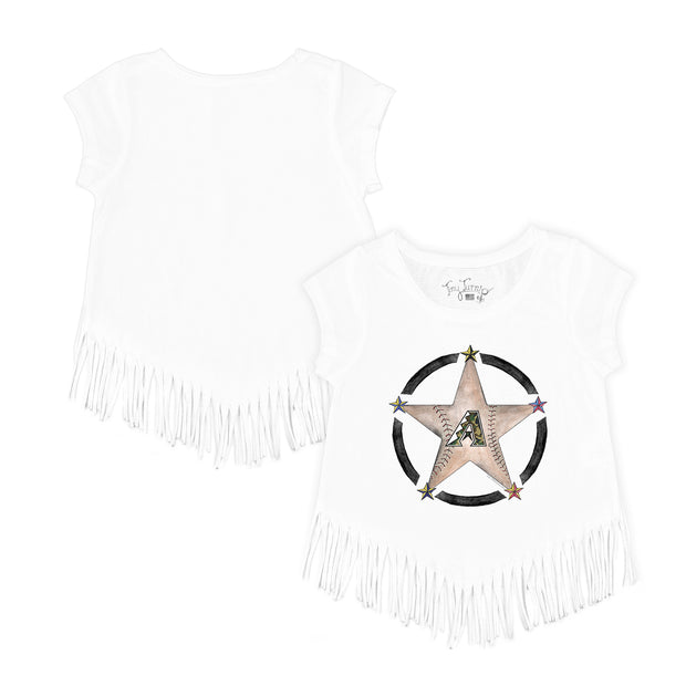 Arizona Diamondbacks Military Star Fringe Tee