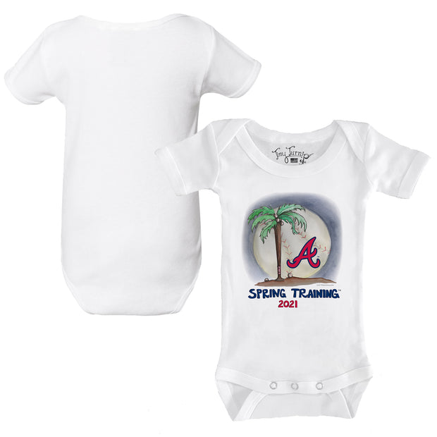 Atlanta Braves Infant 2021 Spring Training Short Sleeve Snapper