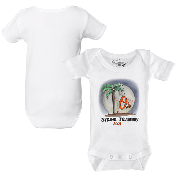 Baltimore Orioles Infant 2021 Spring Training Short Sleeve Snapper
