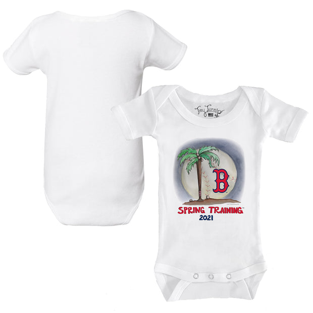 Boston Red Sox Infant 2021 Spring Training Short Sleeve Snapper