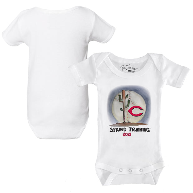 Cincinnati Reds Infant 2021 Spring Training Short Sleeve Snapper