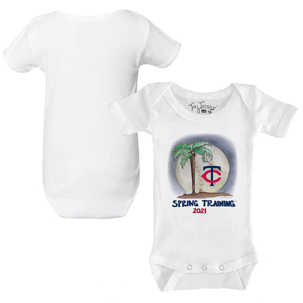 Minnesota Twins Infant 2021 Spring Training Short Sleeve Snapper