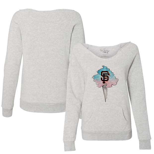 San Francisco Giants Cotton Candy Women's Slouchy Sweatshirt