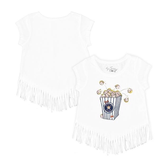 Houston Astros Popcorn Fringe Tee
