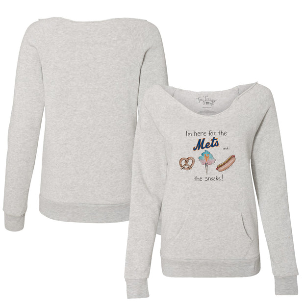 New York Mets Snack Attack Women's Slouchy Sweatshirt