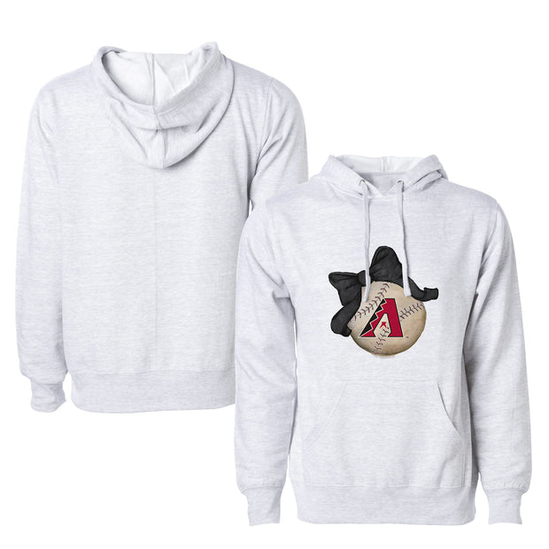 Arizona Diamondbacks Baseball Bow Unisex Pullover Hoodie
