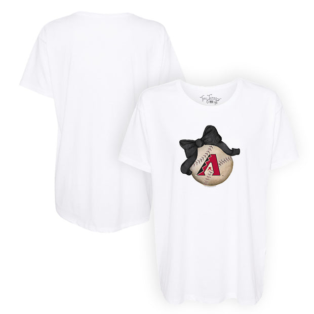 Arizona Diamondbacks Baseball Bow Tee Shirt