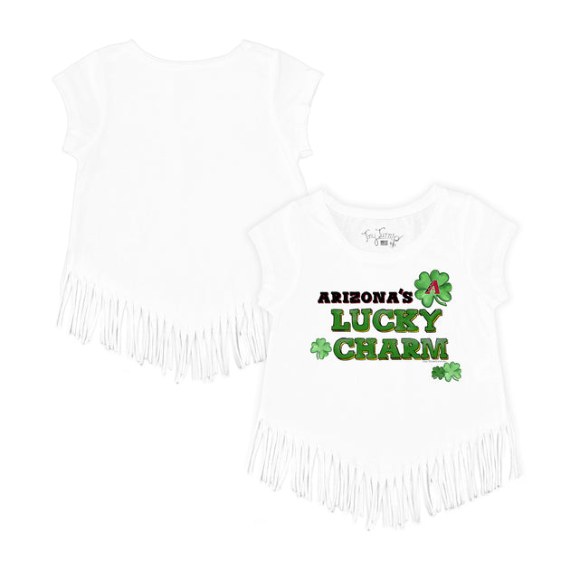 Arizona Diamondbacks Lucky Charm Fringe Tee