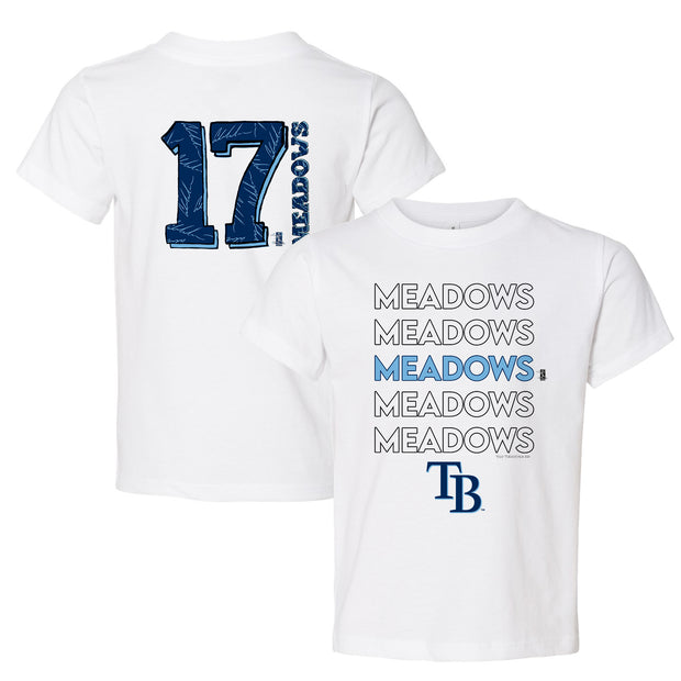 Tampa Bay Rays Austin Meadows Stacked Tee Shirt