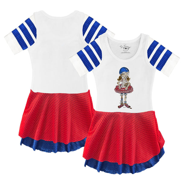 Tiny Turnip Football Babes Sporty Girl Dress