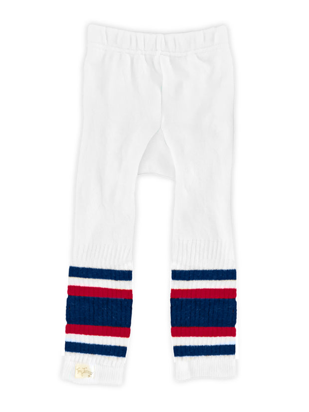 Tiny Turnip Navy Blue and Red Stripe Tubulars