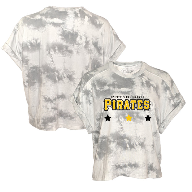 Pittsburgh Pirates Women's Tie Dye Lounge Tee