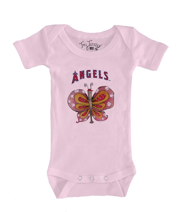 Los Angeles Angels Infant Batterfly Short Sleeve Snapper