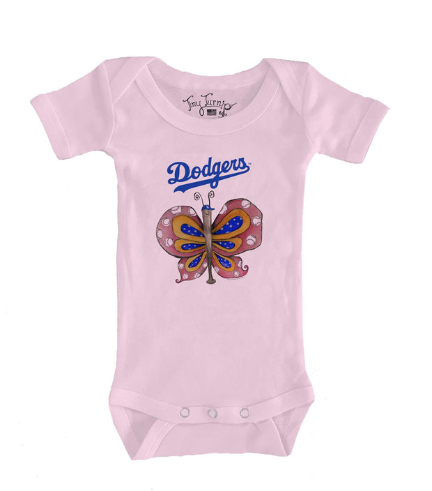 Los Angeles Dodgers Infant Batterfly Short Sleeve Snapper