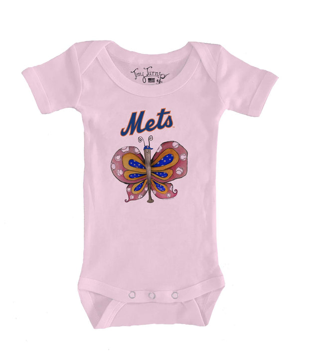 New York Mets Infant Batterfly Short Sleeve Snapper