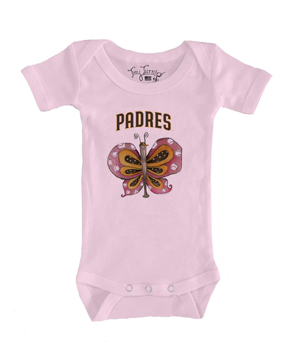 San Diego Padres Infant Batterfly Short Sleeve Snapper