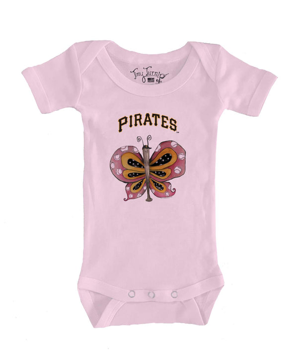 Pittsburgh Pirates Infant Batterfly Short Sleeve Snapper