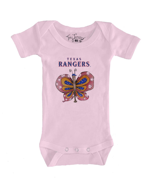 Texas Rangers Infant Batterfly Short Sleeve Snapper