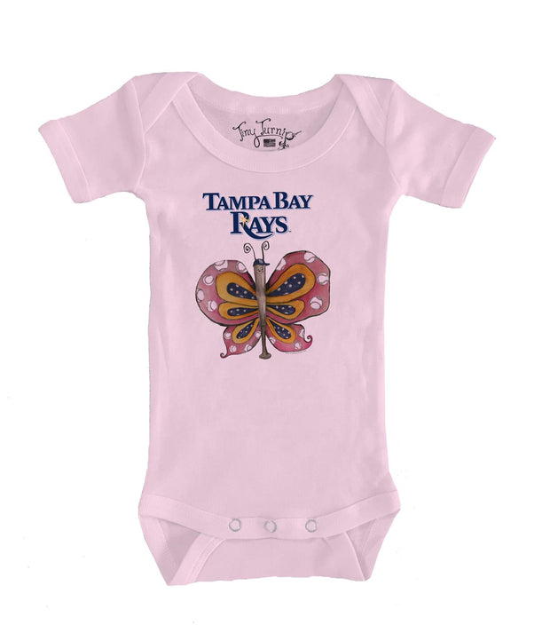Tampa Bay Rays Infant Batterfly Short Sleeve Snapper