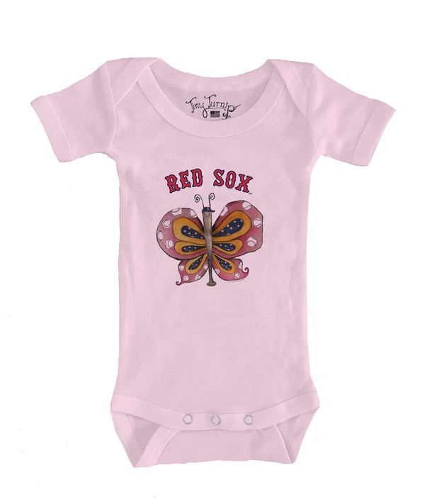 Boston Red Sox Infant Batterfly Short Sleeve Snapper