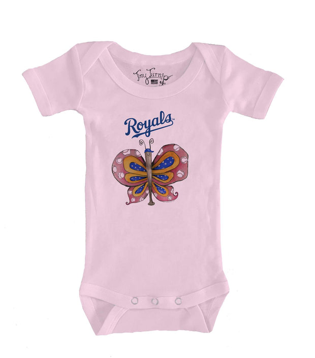 Kansas City Royals Infant Batterfly Short Sleeve Snapper